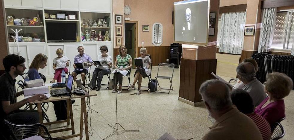 Actores cacereños de más de 65 años se estrenan con Marsillach