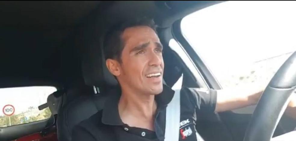 Alberto Contador se pone flamenco