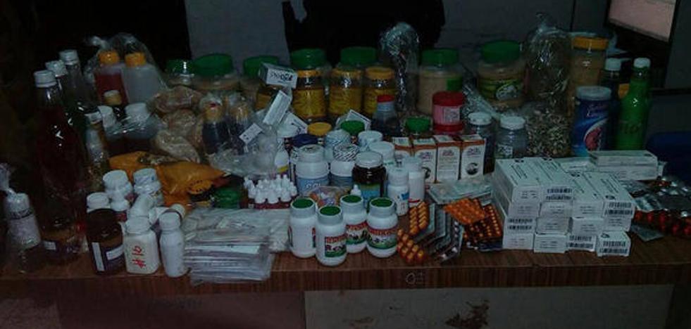 Detienen a una persona en Cáceres por su implicación en la venta ilegal de medicamentos