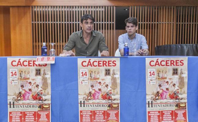La Escuela Taurina de Cáceres celebra su segundo tentadero