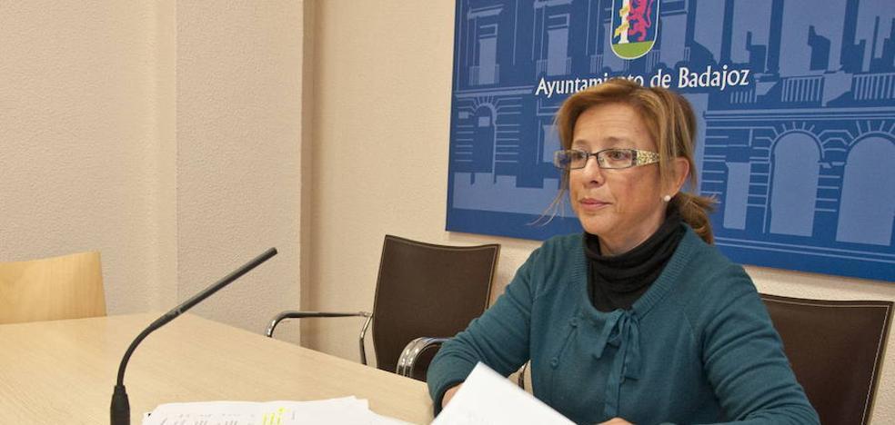 Mari Paz Luján deja de ser concejala de Hacienda de Badajoz