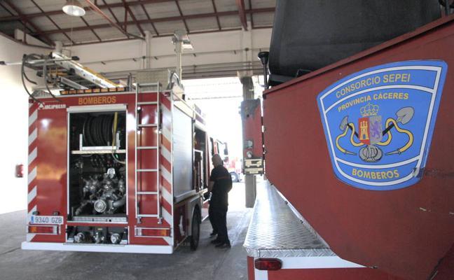 CSIF pregunta por el uso de material de los bomberos del Sepei en clases con opositores