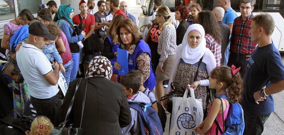 Cruz Roja espera acoger a 40 refugiados en Extremadura antes de que termine el año