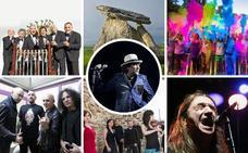 Fin de semana megalítico y rockero con Rubens en el MUBA