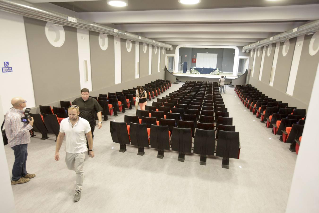 Inauguración del seminario de Cáceres