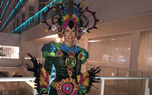 El Carnaval de Badajoz desfila en Miss España
