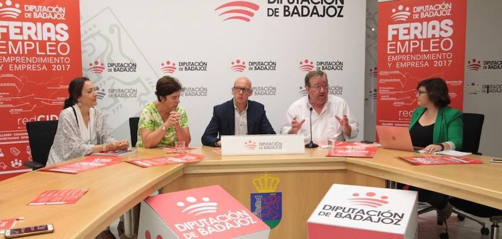 La III Feria de Empleo de la Diputación de Badajoz arranca este jueves en Olivenza