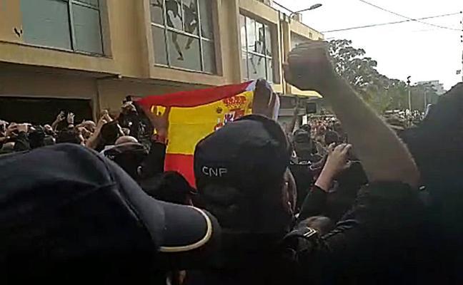 Agentes de la UPR de Badajoz, entre los presionados para desalojar un hotel de Barcelona