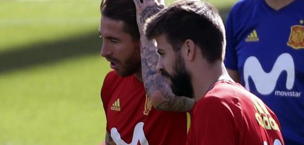 Piqué: «La relación con Ramos es fenomenal»