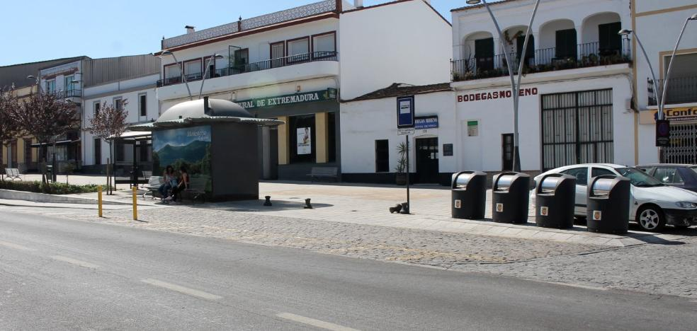 Reorganizarán la parada de bus de Monesterio para incrementar la seguridad