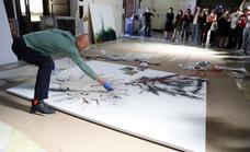 La 'mascletá' creadora de Cai Guo-Qiang en el Prado