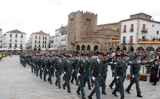 Los guardias civiles de la región evitan el día 12 las celebraciones públicas por el conflicto catalán