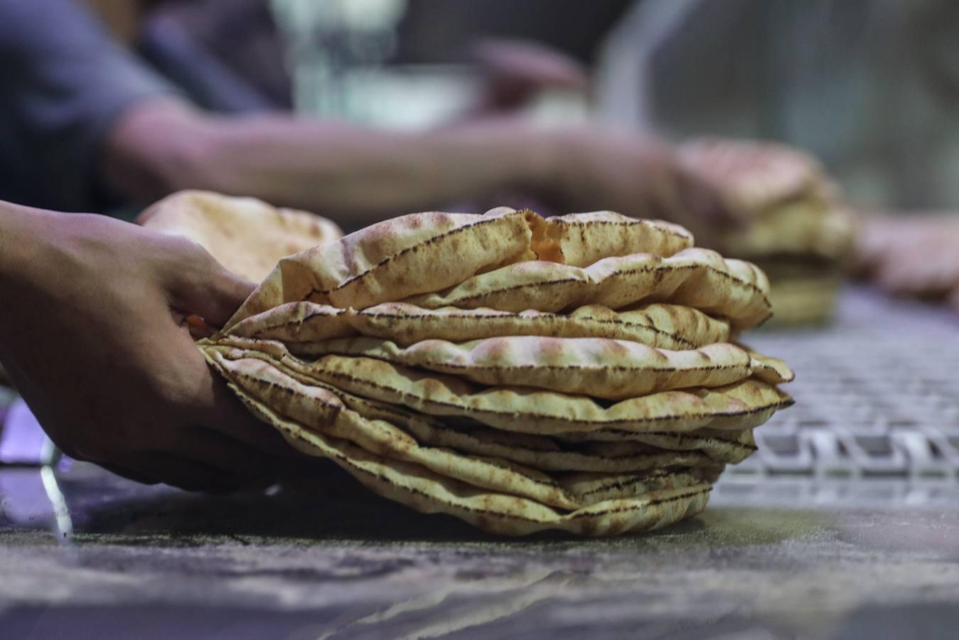 La panadería de la caridad vende el pan con un descuento