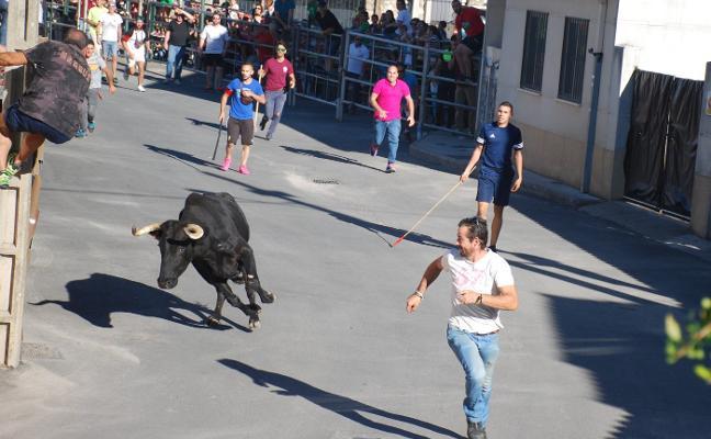 Huertas despide sus fiestas con los festejos taurinos