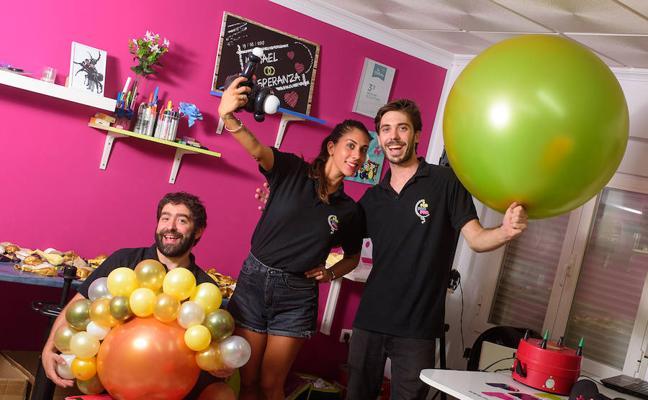 El globo se hace arte en Extremadura