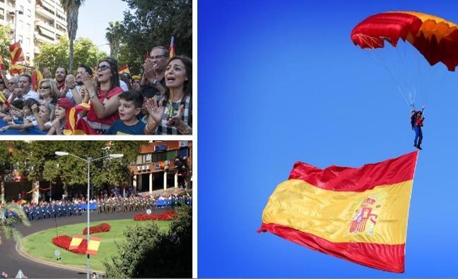 «No estáis solos, ¡Viva España!»