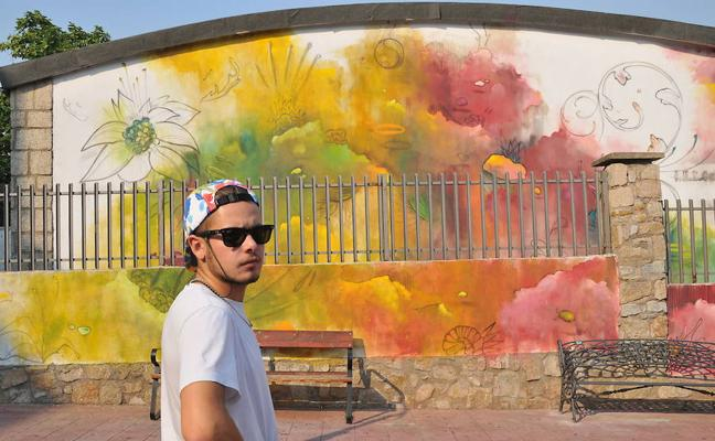 El artista placentino Misterpiro gana el 'Street Art & Food Festival'