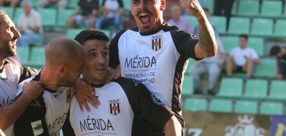 El Mérida mete al Badajoz en descenso