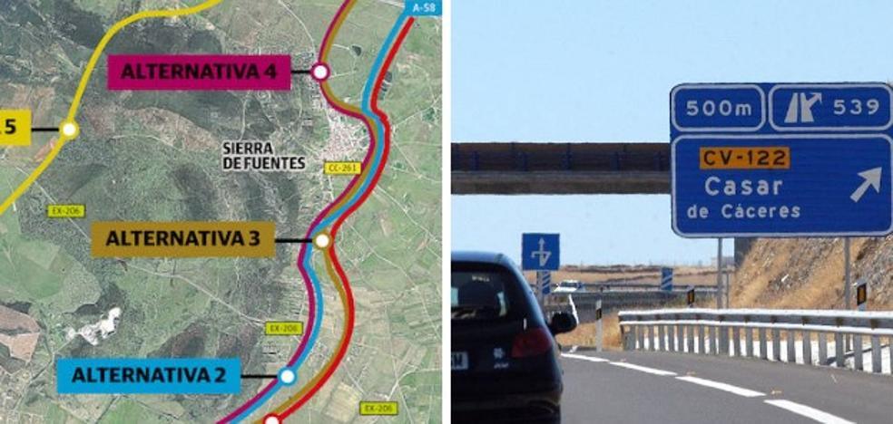 Ecologistas rechazan que la unión de las dos autovías se haga por el sur de Cáceres