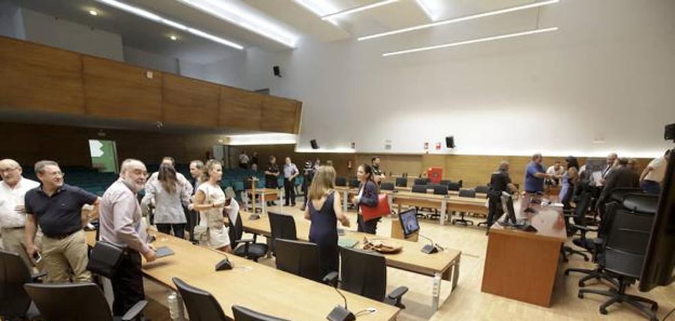 Todo listo para el macrojuicio con 117 acusados que comienza el viernes en Cáceres