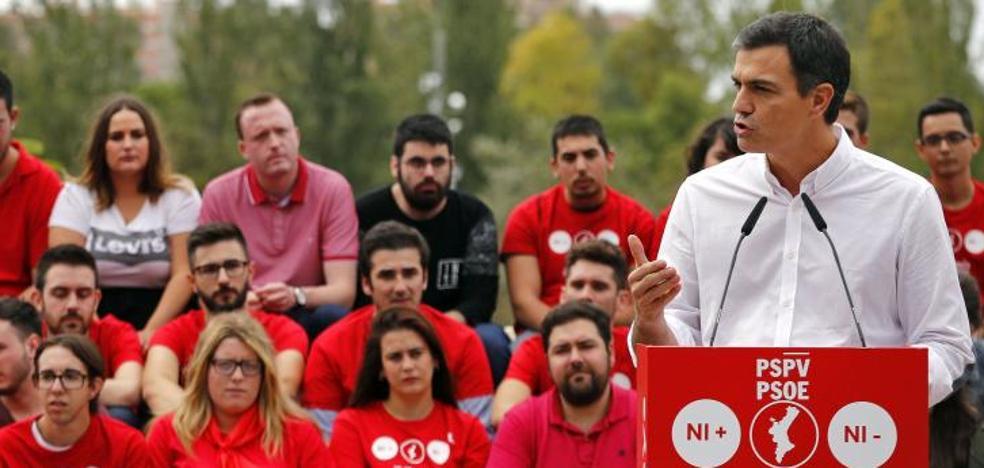 Sánchez apoyará la respuesta del Estado si se declara la independencia
