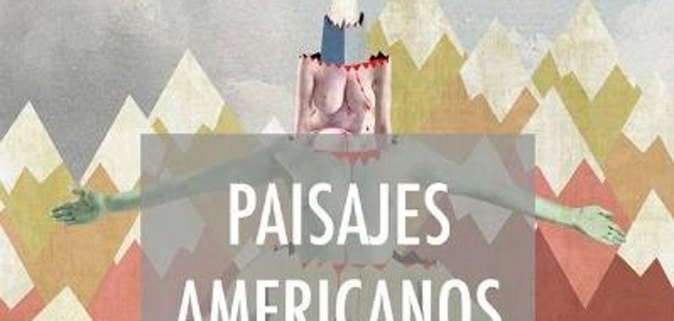 'Paisajes americanos', de Paco MacGregor, en la sala Belleartes