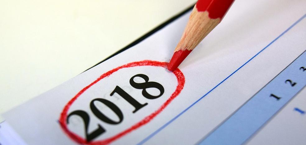 El calendario laboral de 2018 tendrá 12 festivos con un solo puente nacional