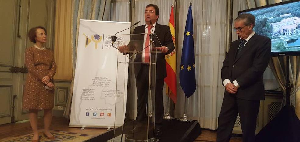 La Fundación de Yuste abre en Bruselas una ventana al mundo