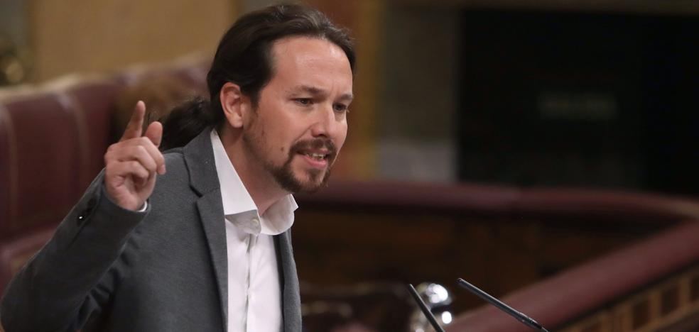 Iglesias exige a Rajoy que lidere ya una negociación con Puigdemont