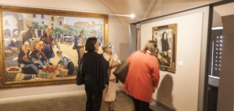 El Museo de Cáceres revive los viajes de Sorolla a Extremadura
