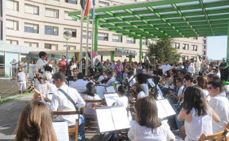 Música en el hospital de Mérida