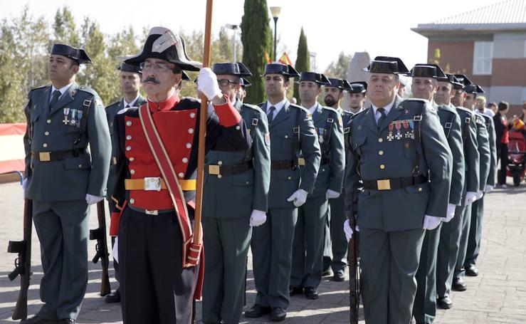 La Guardia Civil celebra en Cáceres el día de su patrona