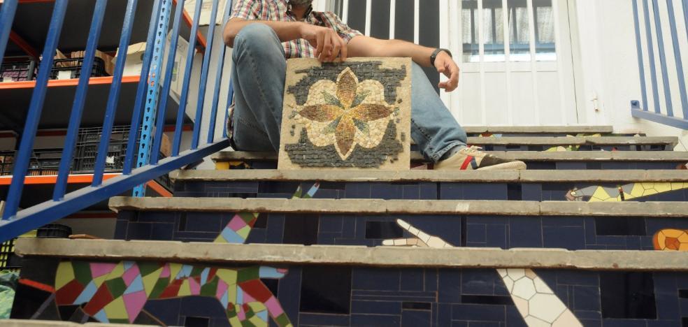 Decorar espacios públicos con mosaicos