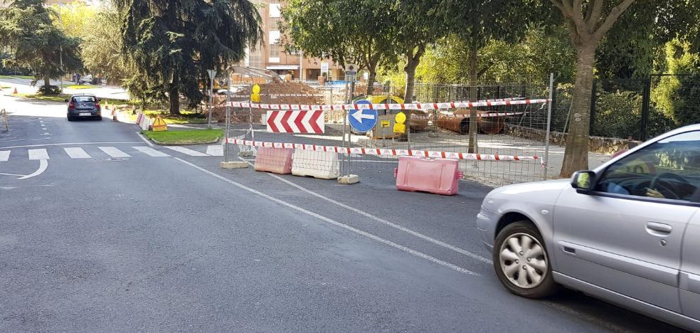 Los cortes en la calle Viena durarán tres meses