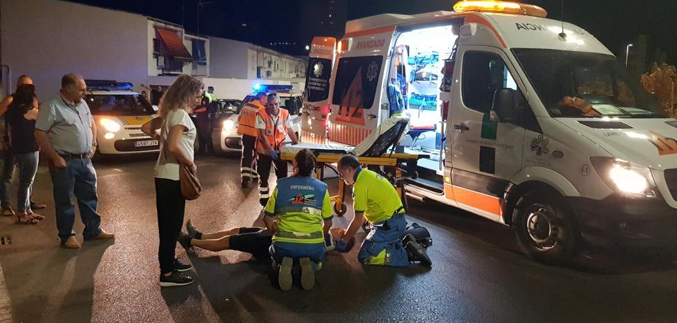 Herido un ciclista tras ser atropellado en la avenida de Dulcinea, en Cáceres