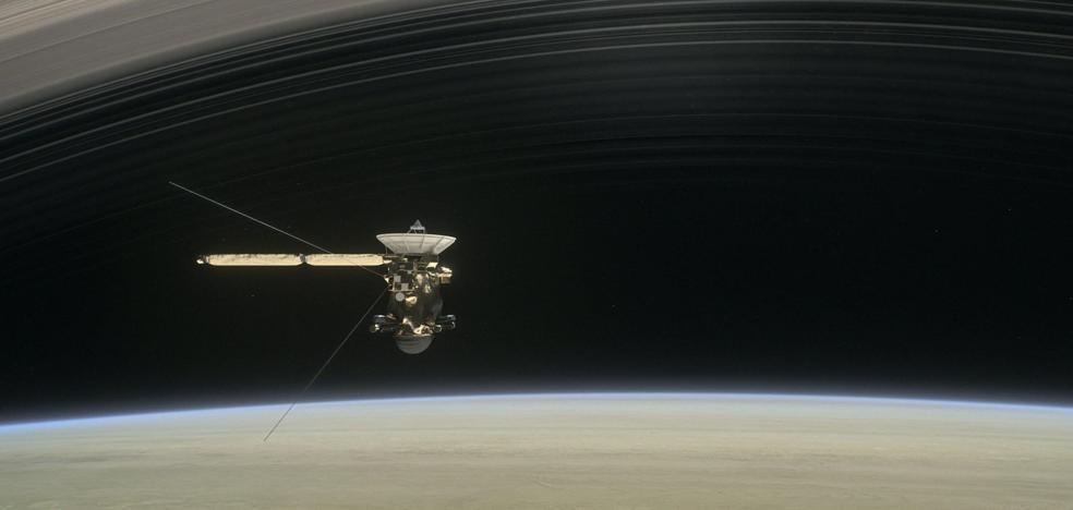 Cassini luchó contra Saturno durante 91 segundos