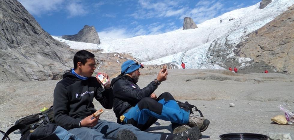 Testigos de cómo desaparece un glaciar «The Walrus Teeth»