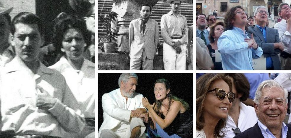Cuando Vargas Llosa bailaba con su tía Julia en Cáceres