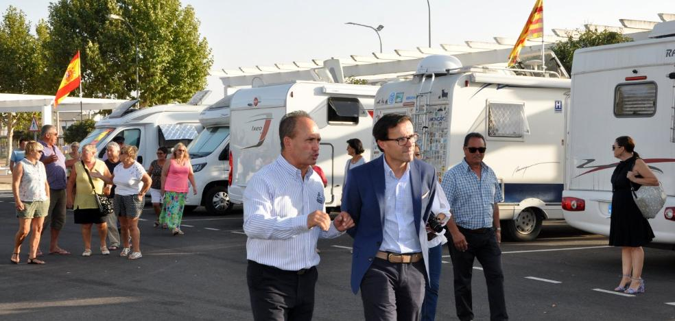 Las autocaravanas llegan a Villanueva