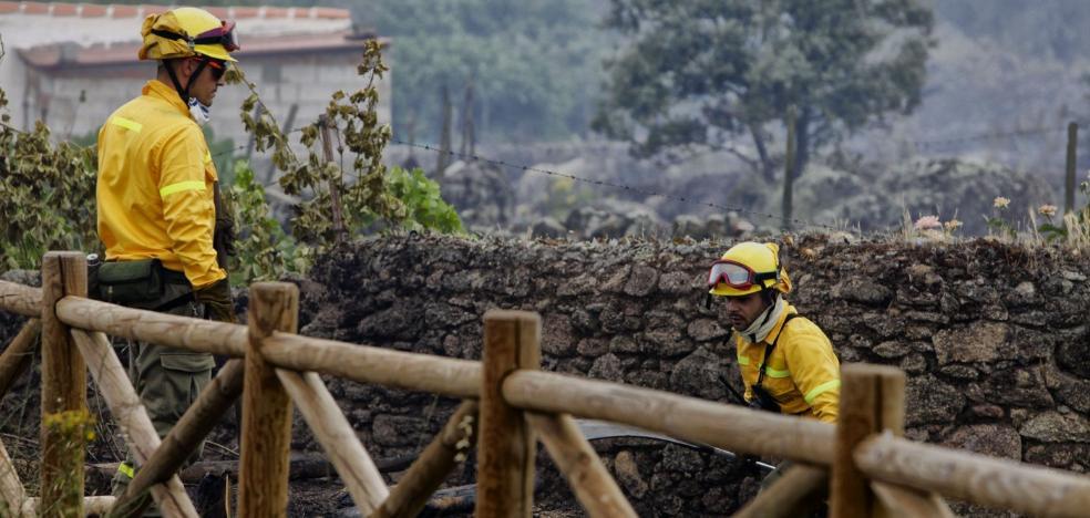 Los bomberos forestales reclaman a la Junta que cumpla sus compromisos
