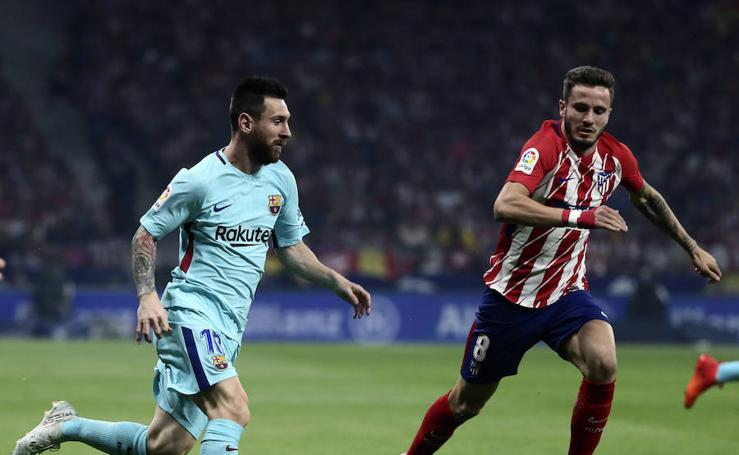 Atlético-Barcelona, en imágenes
