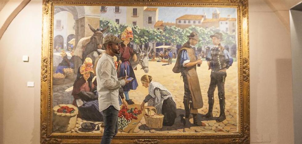 Exposición de Sorolla y Extremadura en el Museo