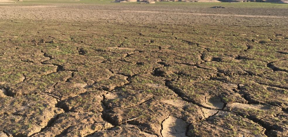 El septiembre más seco de la serie histórica deja bajo mínimos Valdesalor