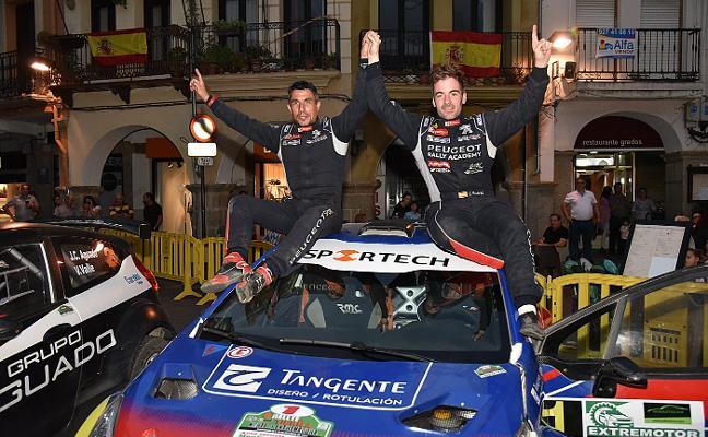 Cohete Suárez gana el Rallye de Tierra Norte de Extremadura