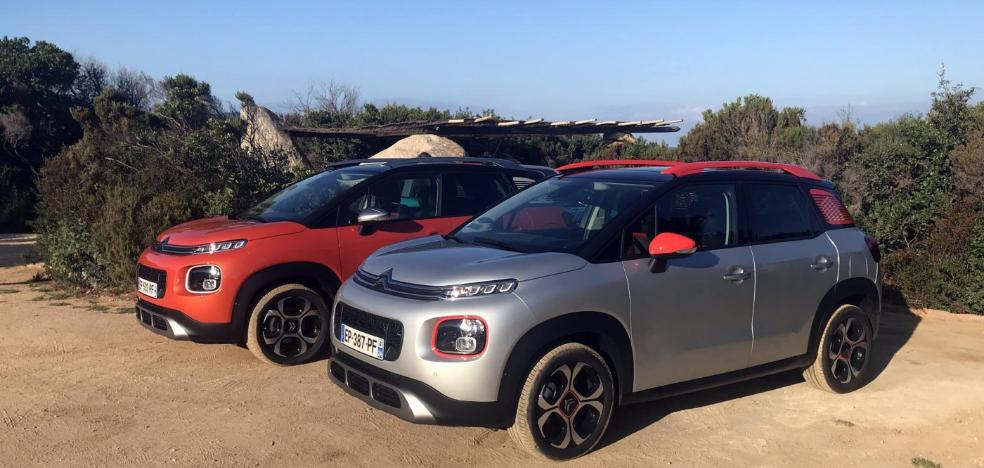 C3 Aircross, el pequeño SUV de Citroën, espacioso y luminoso