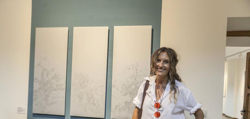 Exposición de la Bienal de Obra Gráfica en el Palacio de la Isla