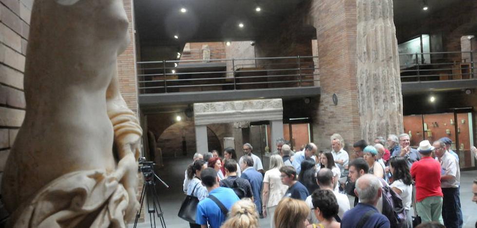 Más de 6.000 personas visitan el Museo Romano durante el puente