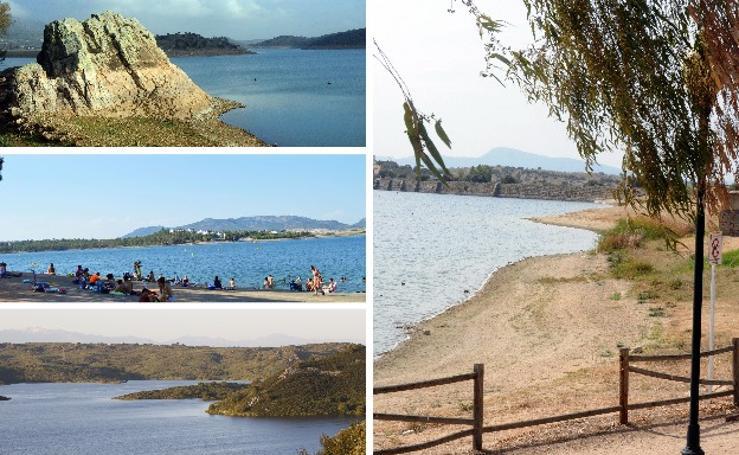 Principales pantanos extremeños tras 49 días sin lluvia