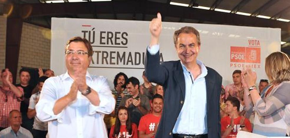 Zapatero celebrará los diez años de gobierno socialista en Herrera del Duque