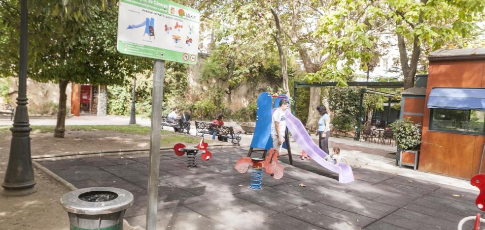 La zona infantil del parque de Calvo Sotelo se renovará por completo